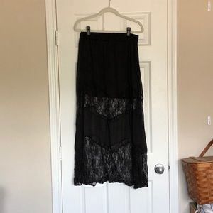 Lace Maxi Skirt - Charlotte Russe